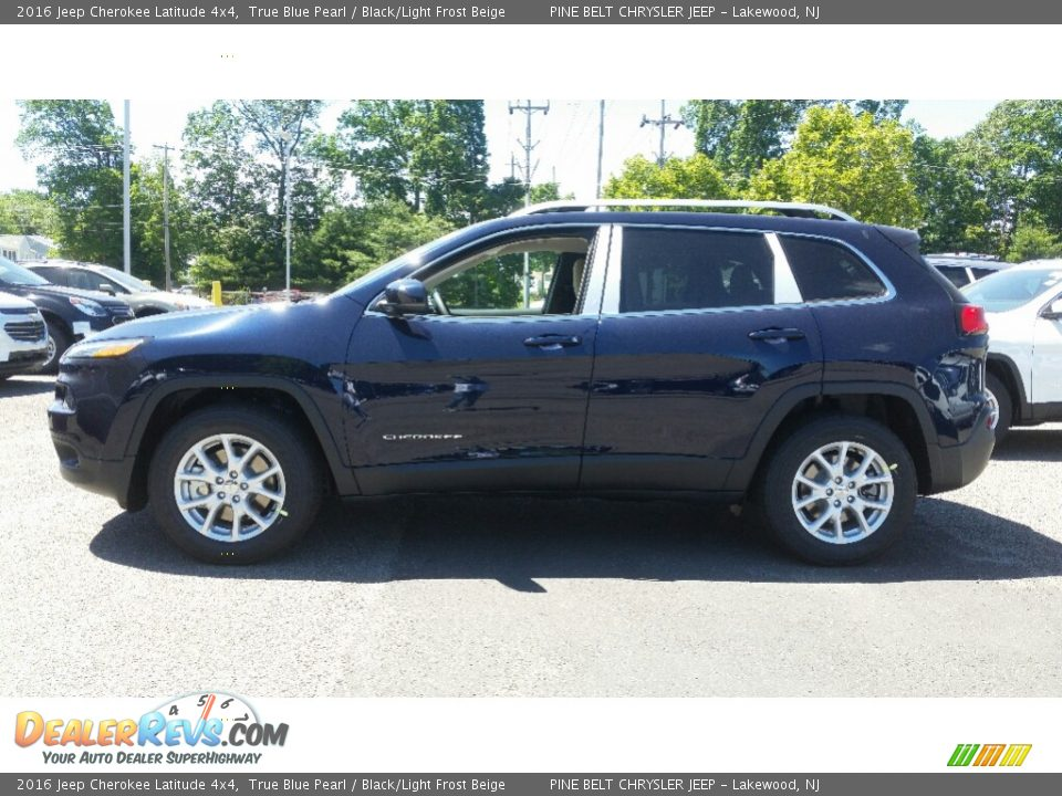 2016 Jeep Cherokee Latitude 4x4 True Blue Pearl Black