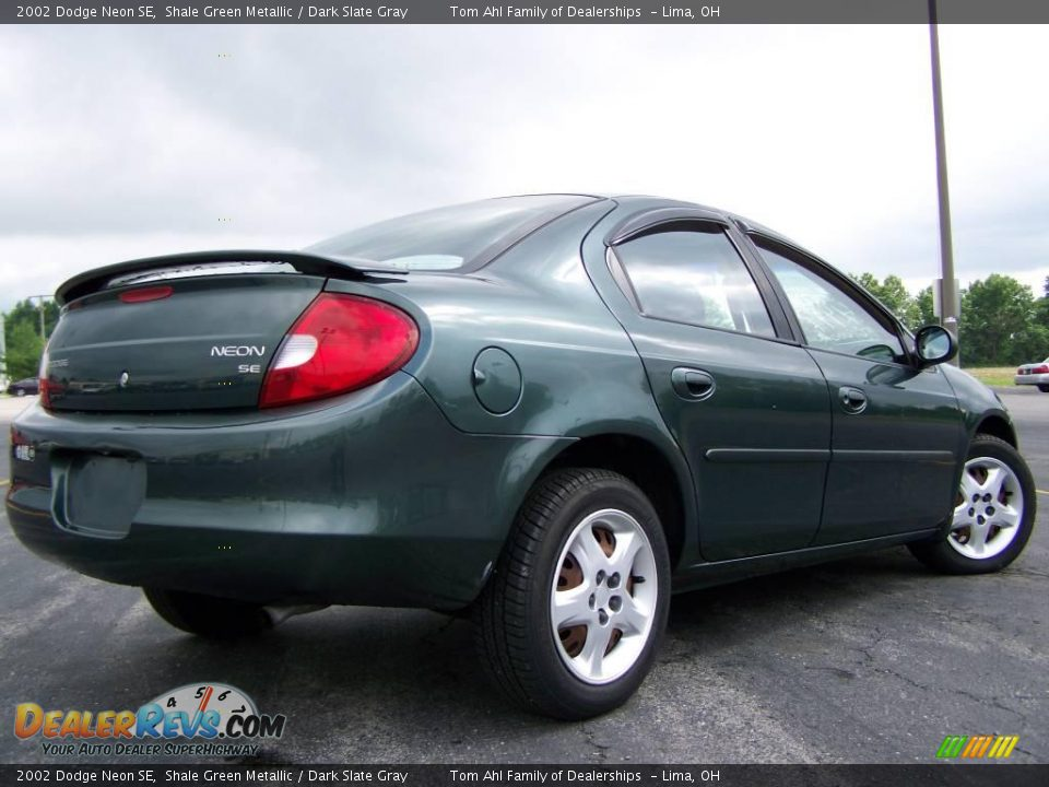 2002 dodge neon se shale green metallic dark slate gray. Black Bedroom Furniture Sets. Home Design Ideas