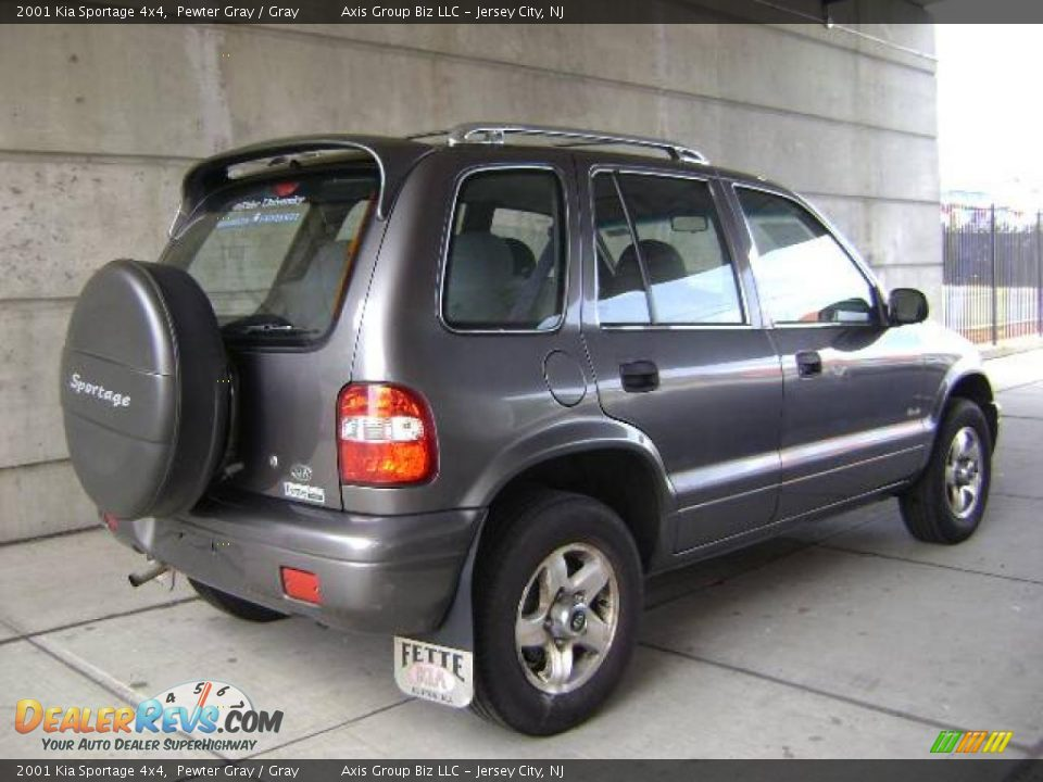 2001 kia sportage 4x4 pewter gray gray photo 4. Black Bedroom Furniture Sets. Home Design Ideas