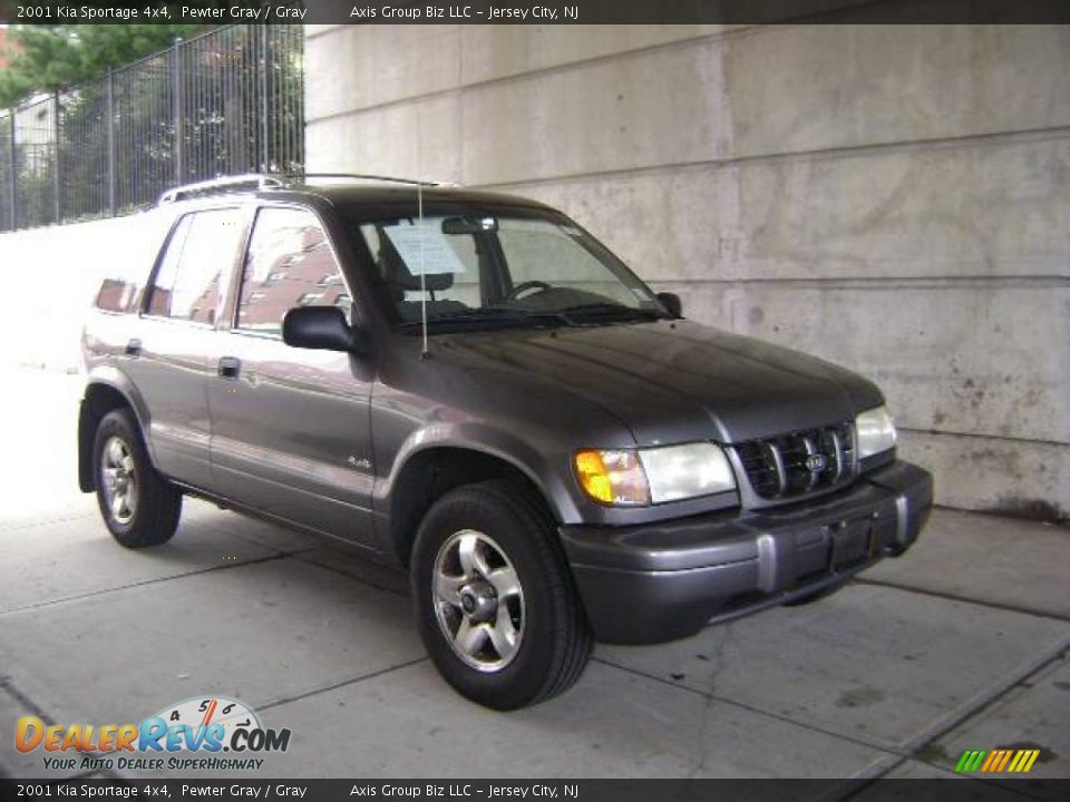 2001 kia sportage 4x4 pewter gray gray photo 6. Black Bedroom Furniture Sets. Home Design Ideas