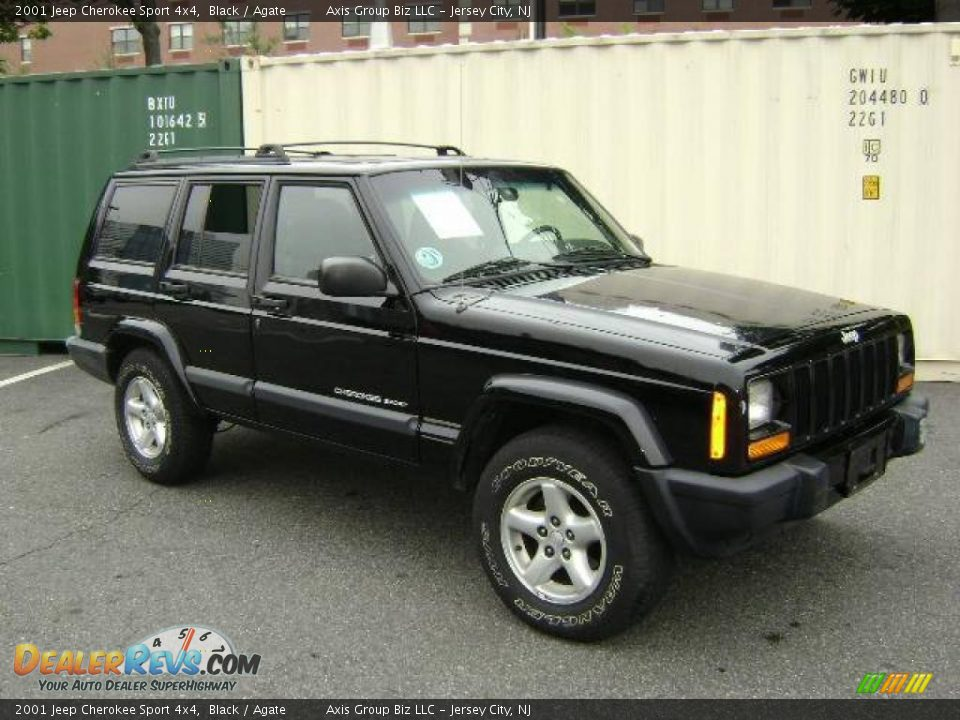 2001 jeep cherokee sport 4x4 black agate photo 2. Cars Review. Best American Auto & Cars Review