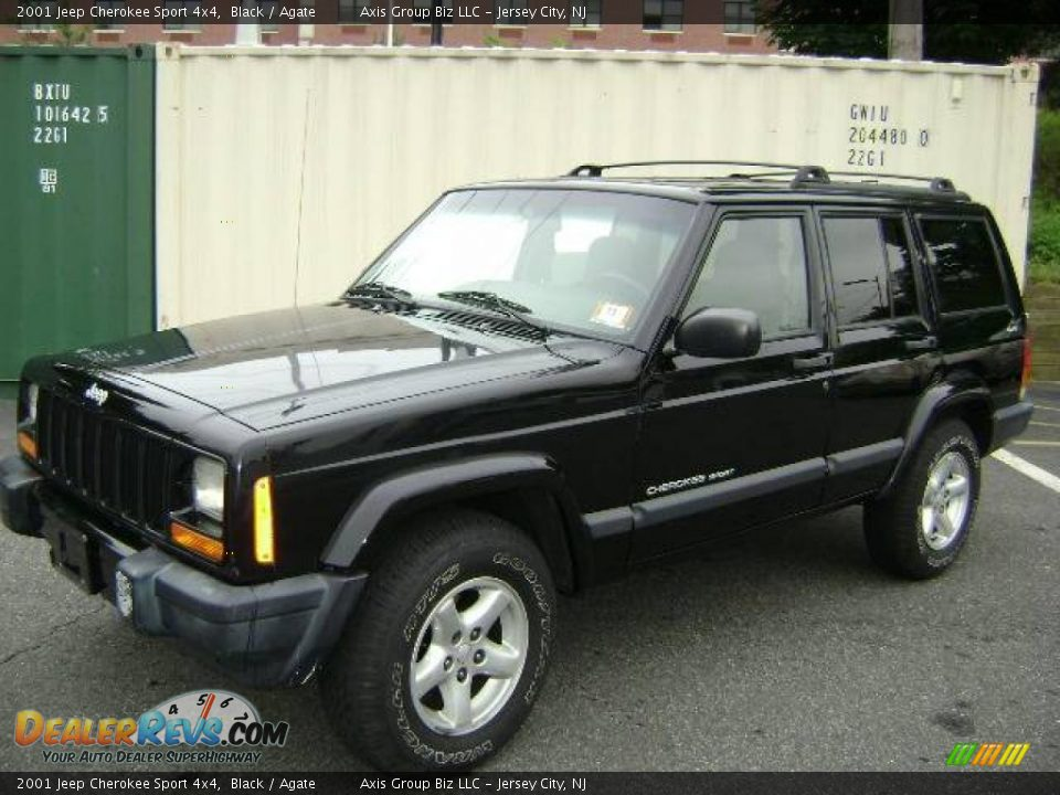 2001 jeep cherokee sport 4x4 black agate photo 3. Cars Review. Best American Auto & Cars Review