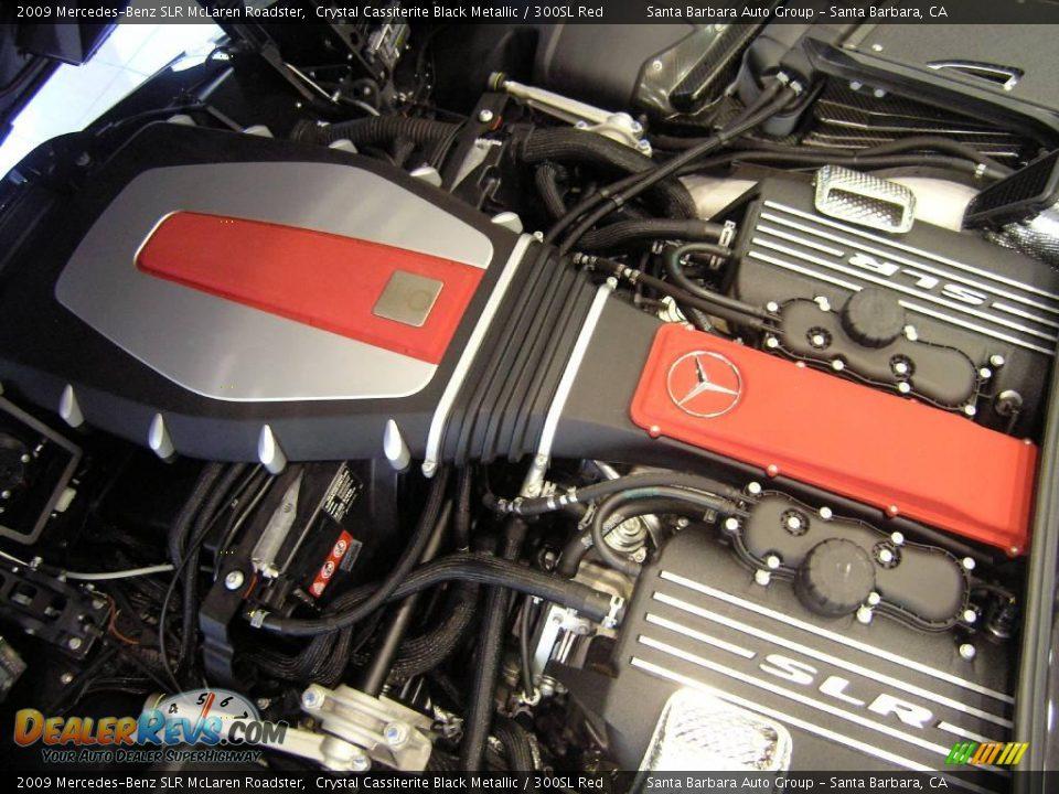 2009 mercedes benz slr mclaren roadster 5 5 liter amg for Mercedes benz v8 engines
