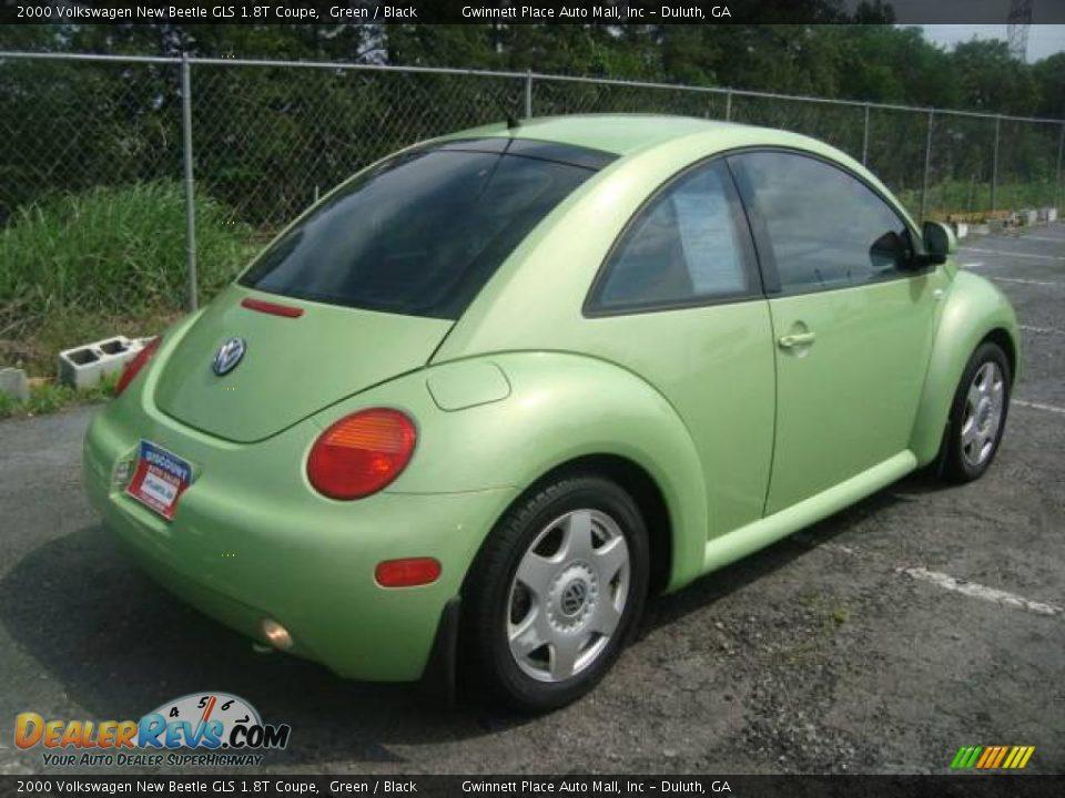 2000 volkswagen new beetle gls 1 8t coupe green black photo 6. Black Bedroom Furniture Sets. Home Design Ideas
