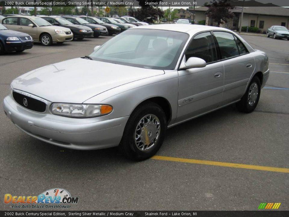 2002 Buick Century Special Edition Sterling Silver Metallic Medium Gray Photo 3 Dealerrevs Com