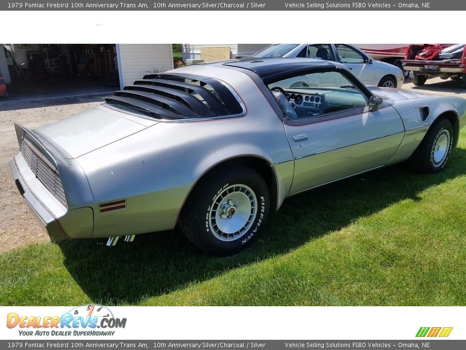 1979 Pontiac Firebird 10th Anniversary Trans Am 10th Anniversary Silver/Charcoal / Silver Photo #3
