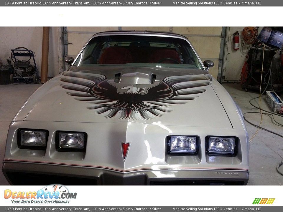 1979 Pontiac Firebird 10th Anniversary Trans Am 10th Anniversary Silver/Charcoal / Silver Photo #5