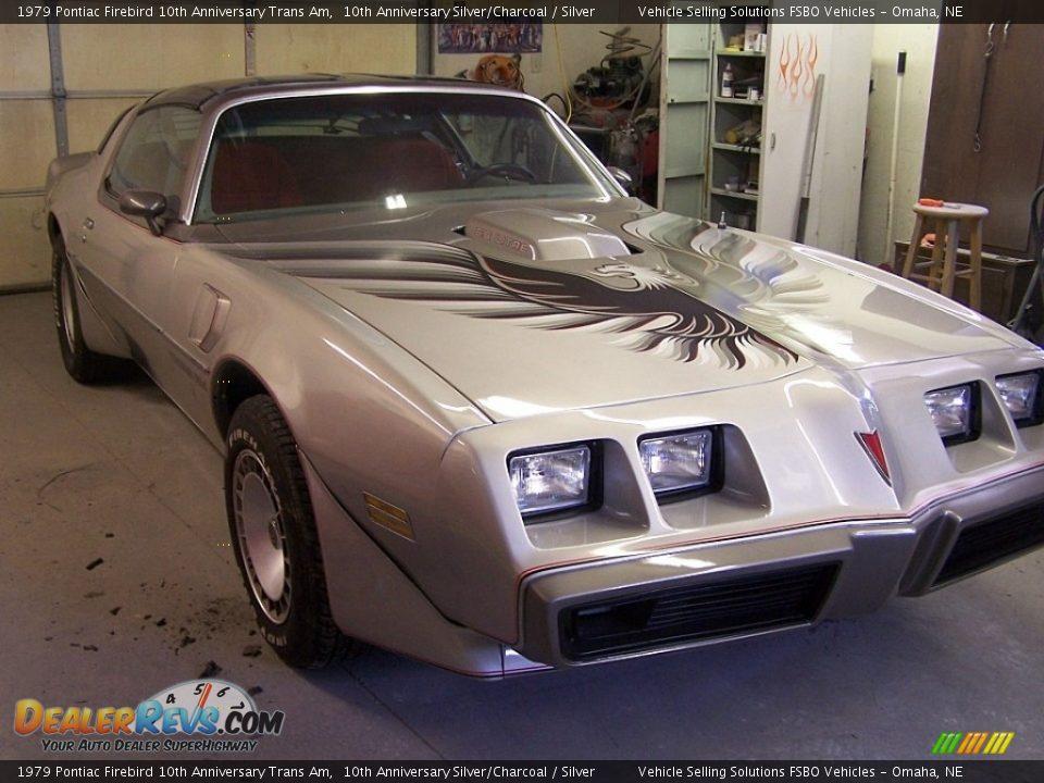 1979 Pontiac Firebird 10th Anniversary Trans Am 10th Anniversary Silver/Charcoal / Silver Photo #6