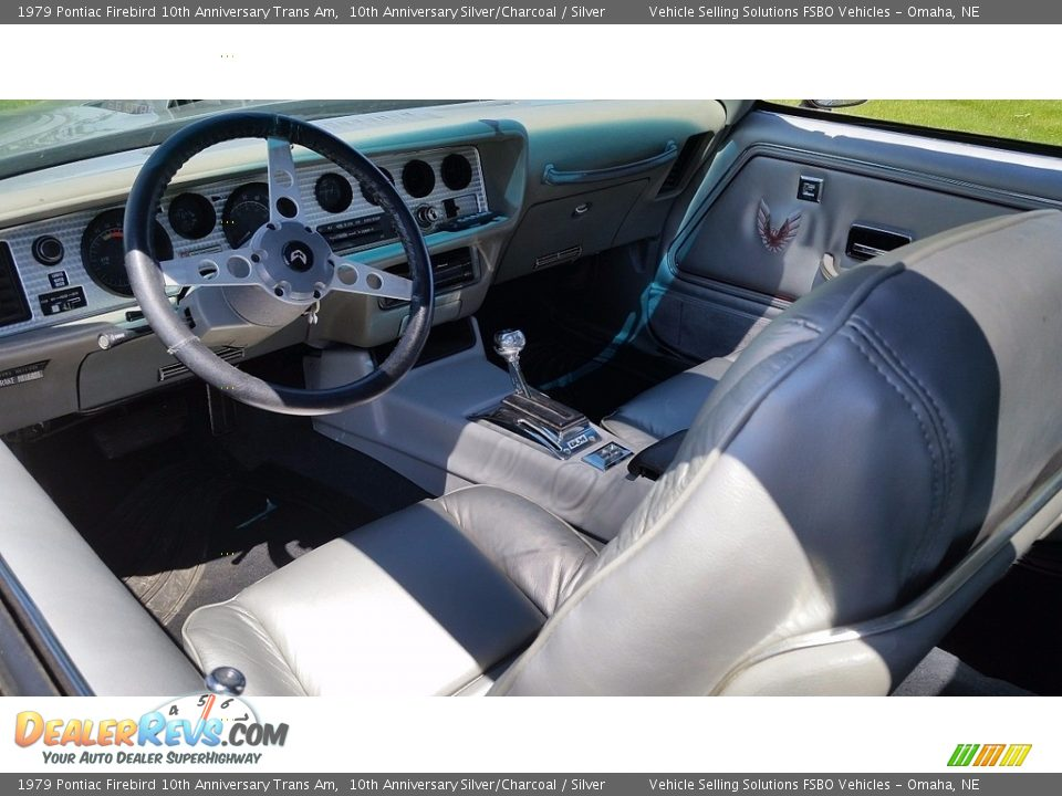 Front Seat of 1979 Pontiac Firebird 10th Anniversary Trans Am Photo #8