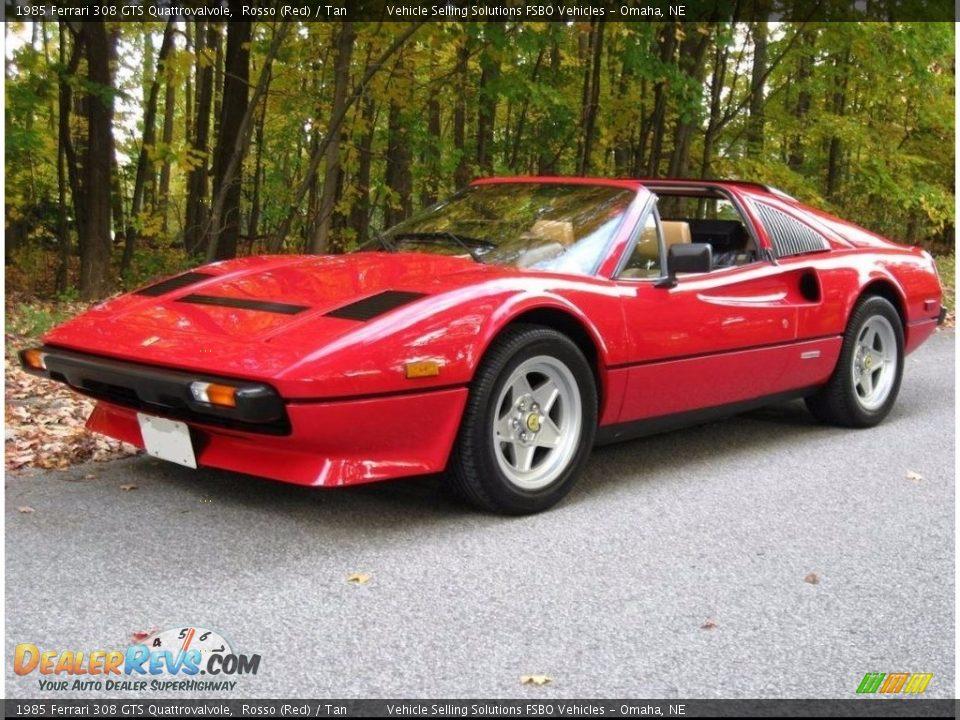 1985 Ferrari 308 GTS Quattrovalvole Rosso (Red) / Tan Photo #1
