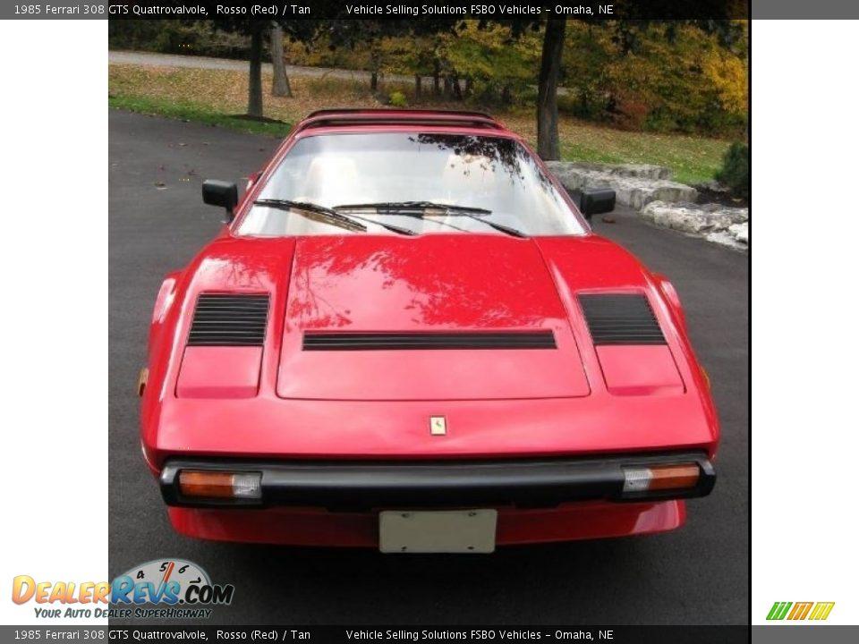 1985 Ferrari 308 GTS Quattrovalvole Rosso (Red) / Tan Photo #4