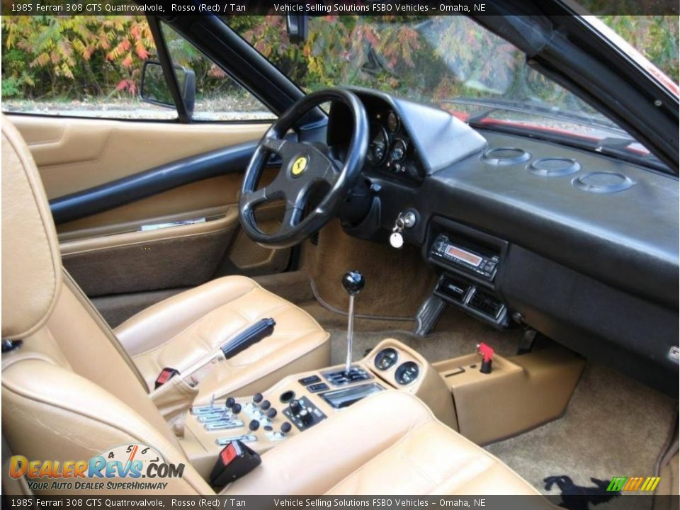 Dashboard of 1985 Ferrari 308 GTS Quattrovalvole Photo #8