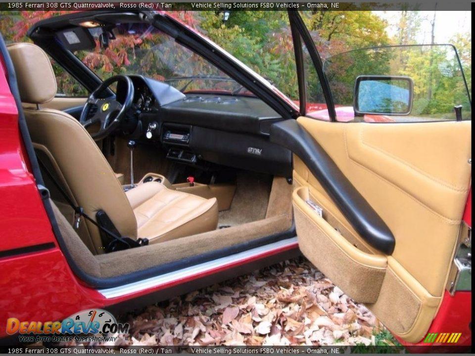 1985 Ferrari 308 GTS Quattrovalvole Rosso (Red) / Tan Photo #9