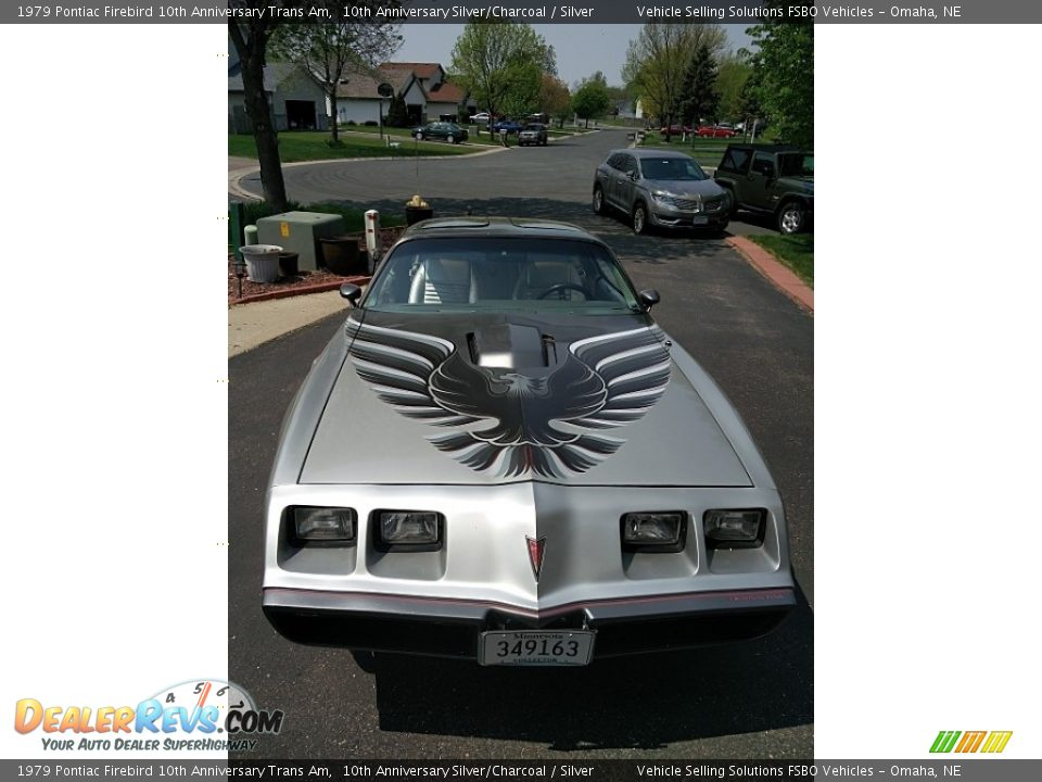 1979 Pontiac Firebird 10th Anniversary Trans Am 10th Anniversary Silver/Charcoal / Silver Photo #2