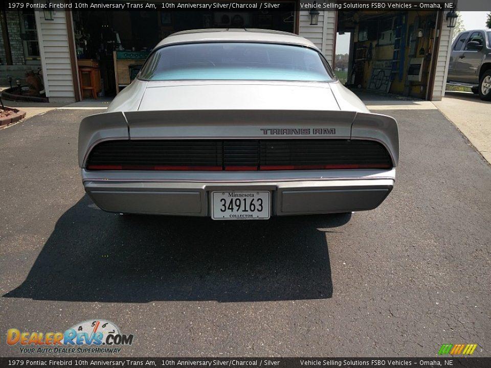 1979 Pontiac Firebird 10th Anniversary Trans Am 10th Anniversary Silver/Charcoal / Silver Photo #4