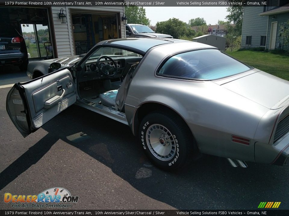1979 Pontiac Firebird 10th Anniversary Trans Am 10th Anniversary Silver/Charcoal / Silver Photo #6