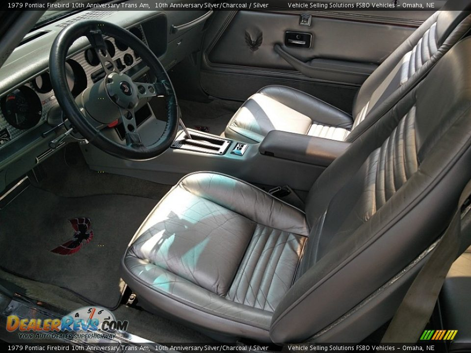 Silver Interior - 1979 Pontiac Firebird 10th Anniversary Trans Am Photo #9
