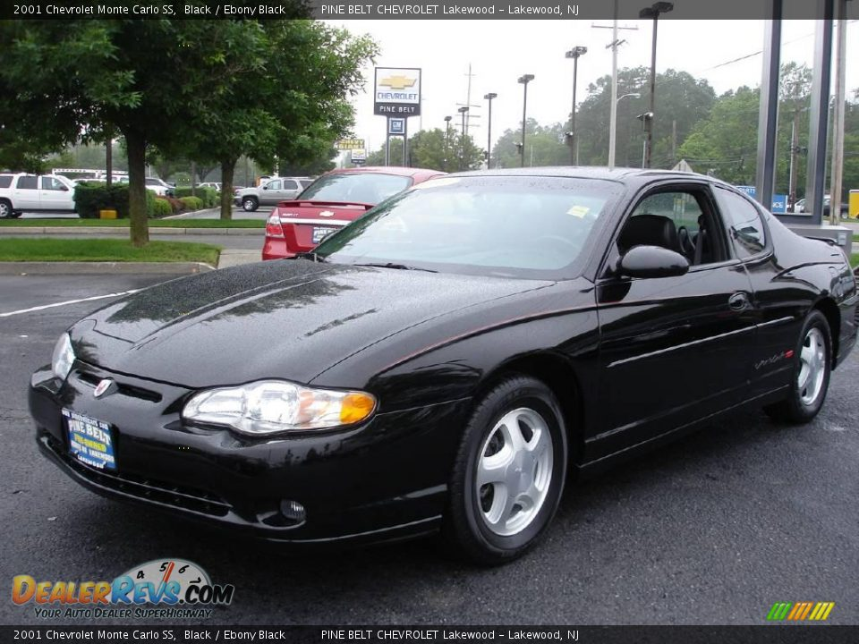 2001 chevrolet monte carlo ss black ebony black photo 1. Black Bedroom Furniture Sets. Home Design Ideas