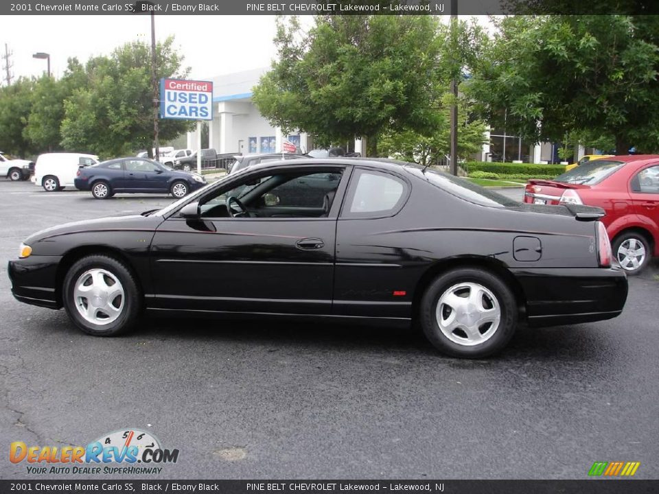 2001 chevrolet monte carlo ss black ebony black photo 5. Black Bedroom Furniture Sets. Home Design Ideas