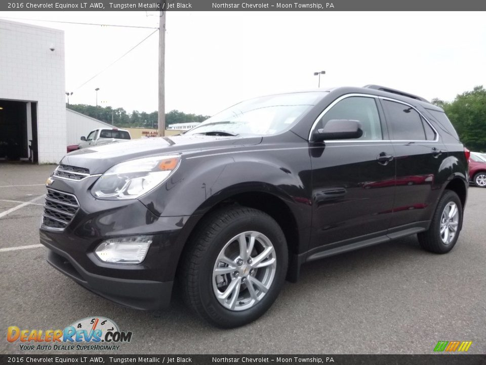 2016 Chevrolet Equinox LT AWD Tungsten Metallic / Jet Black Photo #1