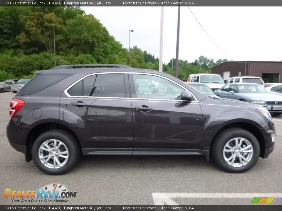 2016 Chevrolet Equinox LT AWD Tungsten Metallic / Jet Black Photo #4