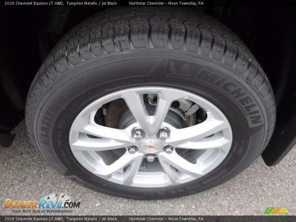2016 Chevrolet Equinox LT AWD Tungsten Metallic / Jet Black Photo #10