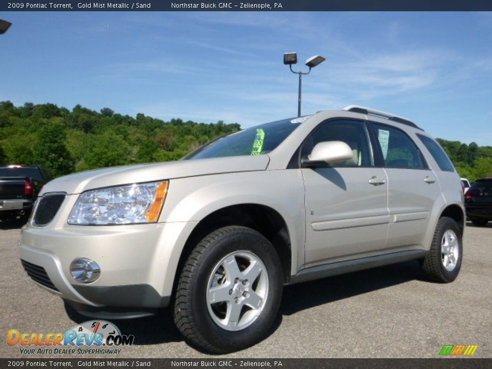 2009 Pontiac Torrent Gold Mist Metallic / Sand Photo #2