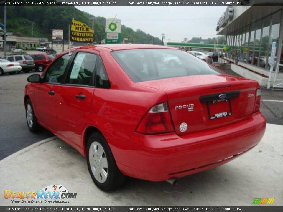 2006 ford focus zx4 se sedan infra red dark flint light. Black Bedroom Furniture Sets. Home Design Ideas
