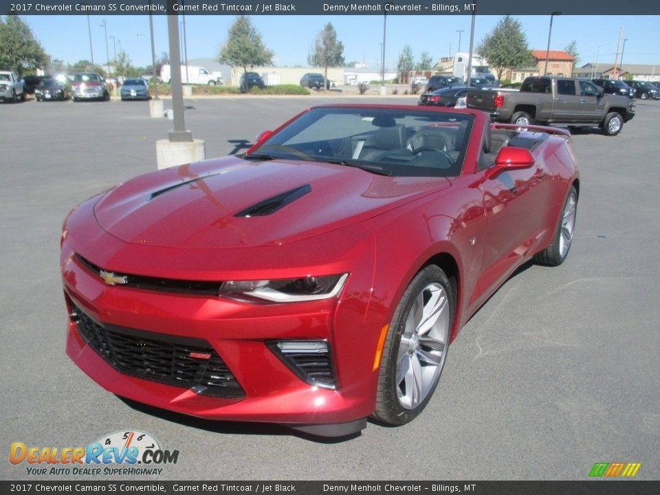 2017 Chevrolet Camaro SS Convertible Garnet Red Tintcoat / Jet Black Photo #1