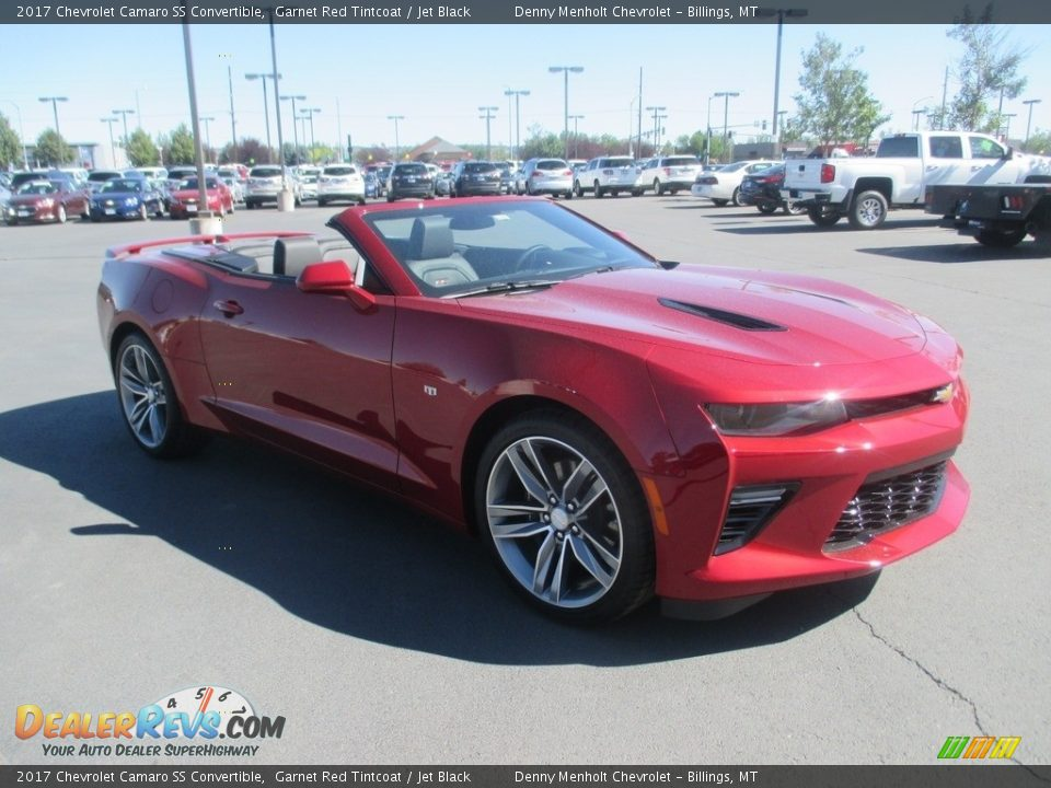 Front 3/4 View of 2017 Chevrolet Camaro SS Convertible Photo #7