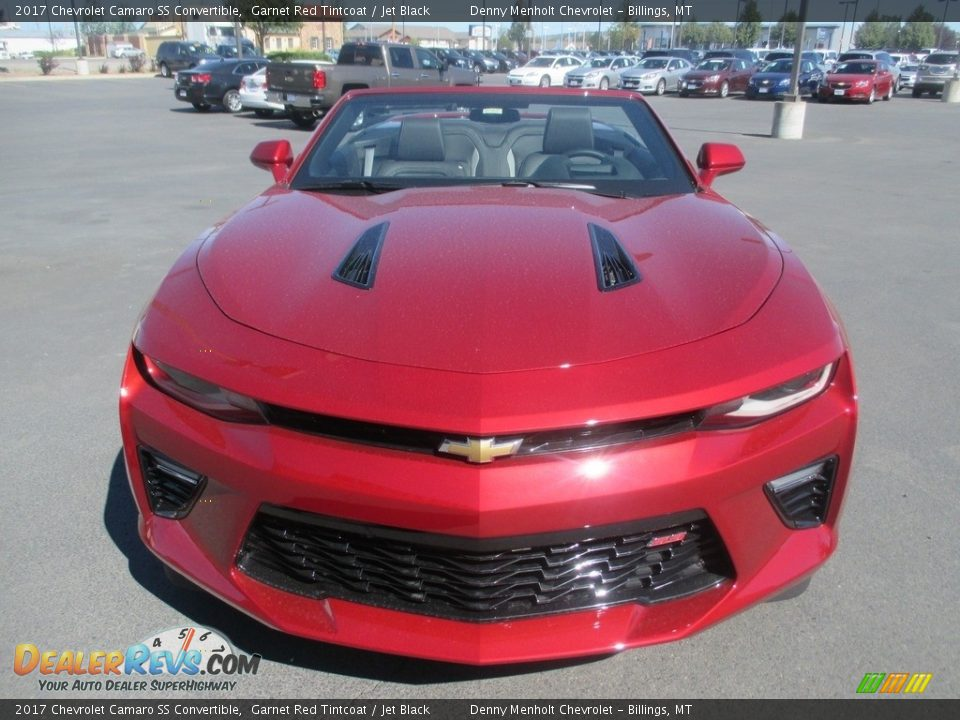 Garnet Red Tintcoat 2017 Chevrolet Camaro SS Convertible Photo #8