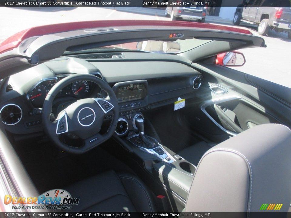 2017 Chevrolet Camaro SS Convertible Garnet Red Tintcoat / Jet Black Photo #9