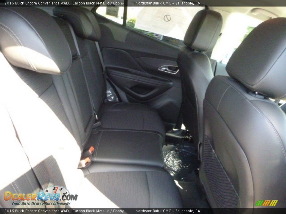 2016 Buick Encore Convenience AWD Carbon Black Metallic / Ebony Photo #9