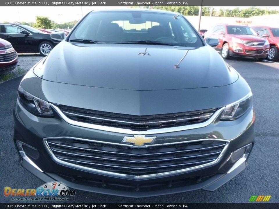 2016 Chevrolet Malibu LT Nightfall Gray Metallic / Jet Black Photo #2
