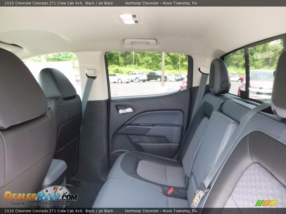 2016 Chevrolet Colorado Z71 Crew Cab 4x4 Black / Jet Black Photo #11
