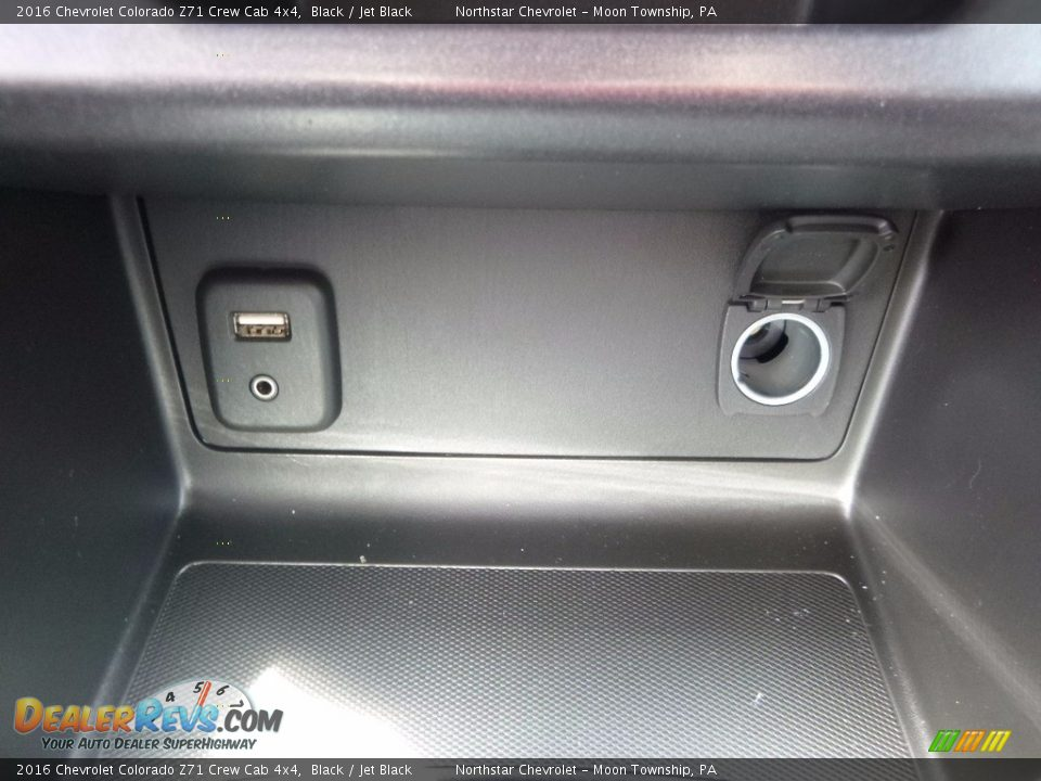 2016 Chevrolet Colorado Z71 Crew Cab 4x4 Black / Jet Black Photo #19