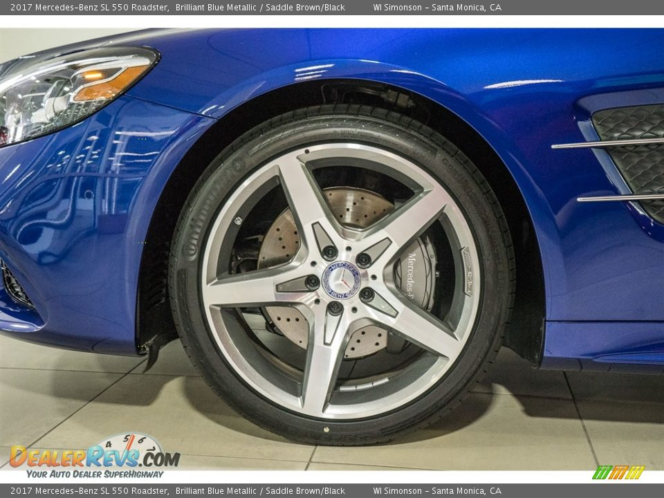 2017 Mercedes-Benz SL 550 Roadster Wheel Photo #10