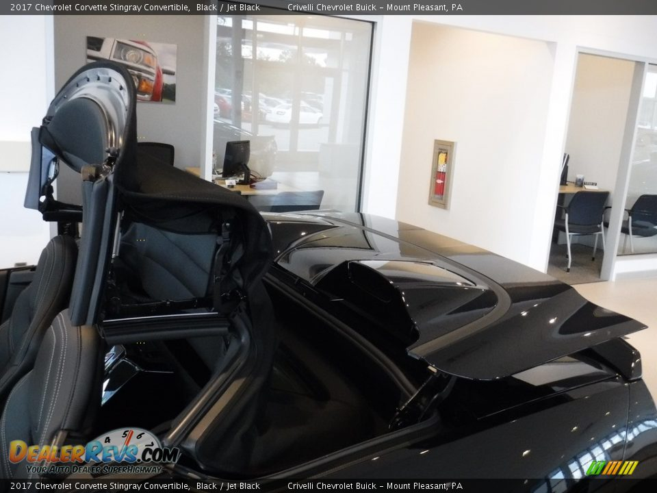 2017 Chevrolet Corvette Stingray Convertible Black / Jet Black Photo #3