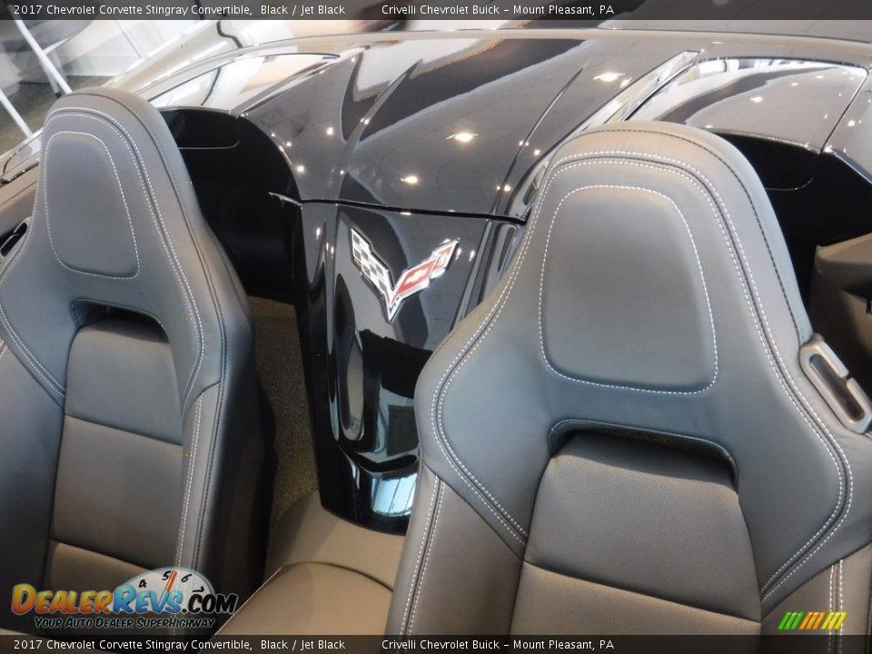 2017 Chevrolet Corvette Stingray Convertible Black / Jet Black Photo #19