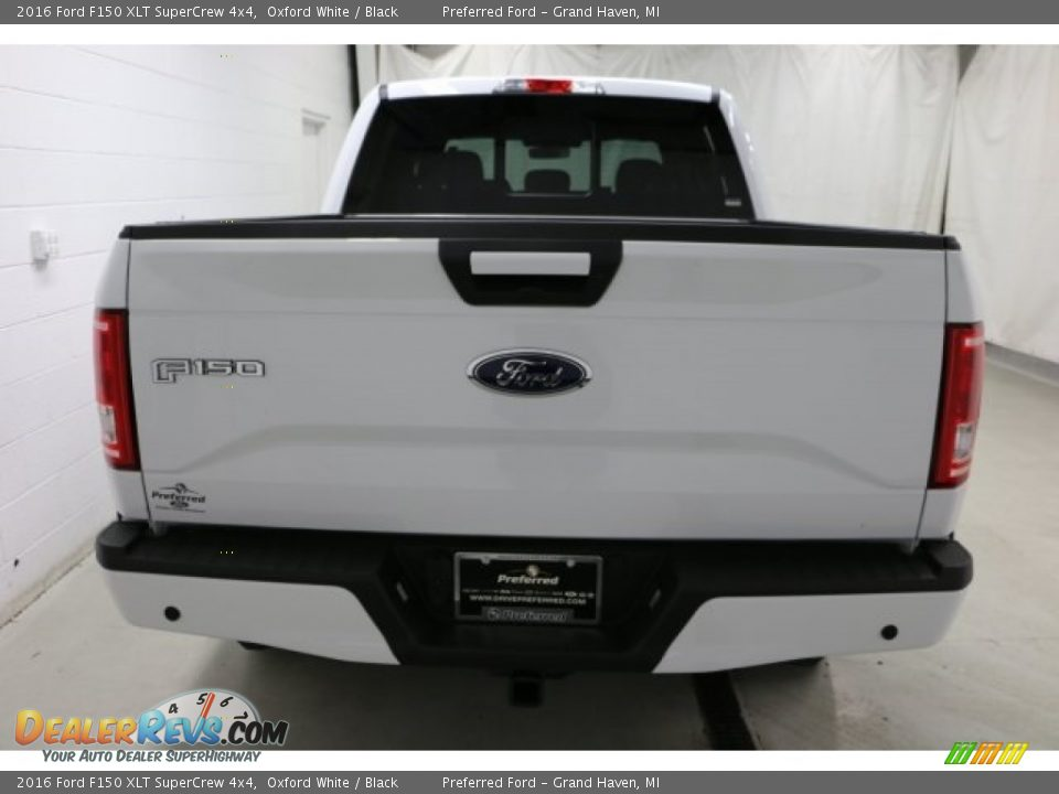 2016 Ford F150 XLT SuperCrew 4x4 Oxford White / Black Photo #10