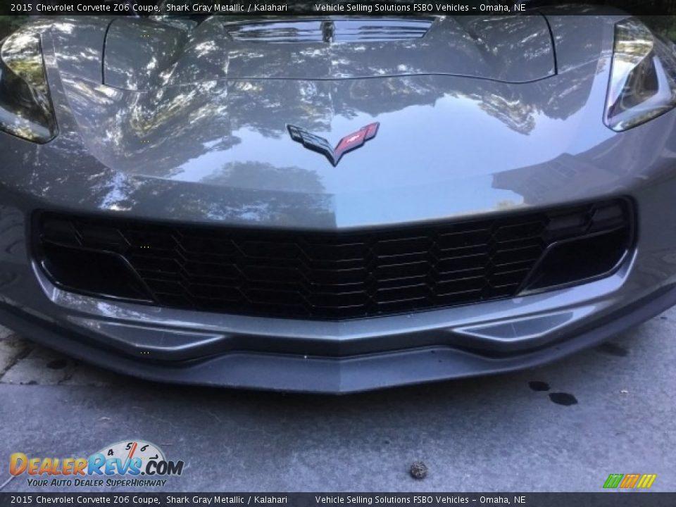2015 Chevrolet Corvette Z06 Coupe Shark Gray Metallic / Kalahari Photo #4