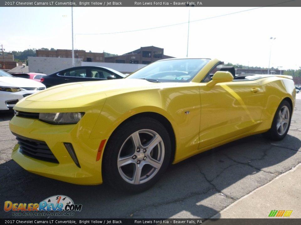 2017 Chevrolet Camaro LT Convertible Bright Yellow / Jet Black Photo #6