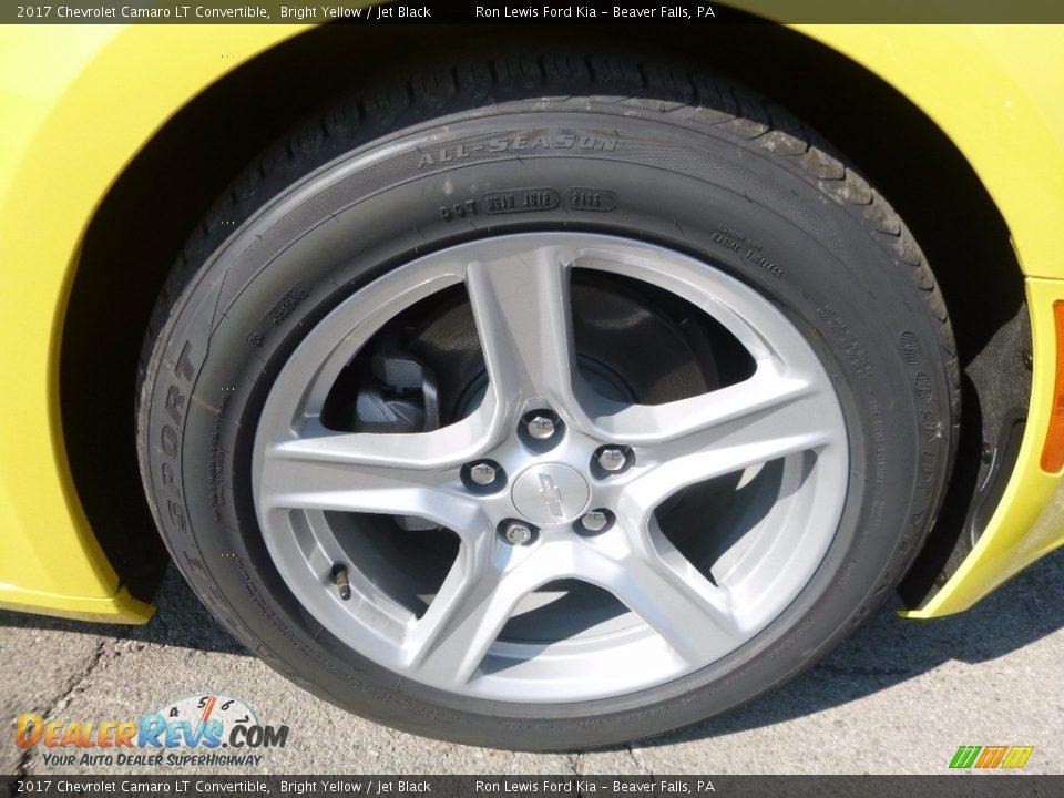 2017 Chevrolet Camaro LT Convertible Wheel Photo #9