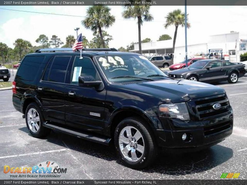 2007 ford expedition limited black charcoal black photo 12 dealerrevs com