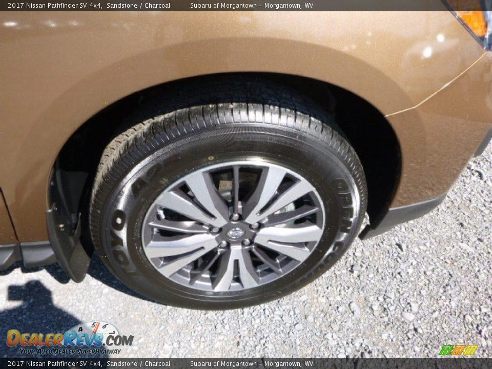 2017 Nissan Pathfinder SV 4x4 Wheel Photo #2