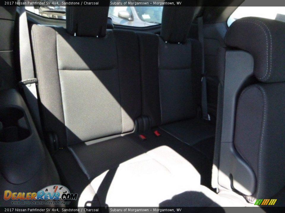 2017 Nissan Pathfinder SV 4x4 Sandstone / Charcoal Photo #6