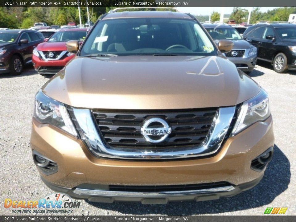 Sandstone 2017 Nissan Pathfinder SV 4x4 Photo #12
