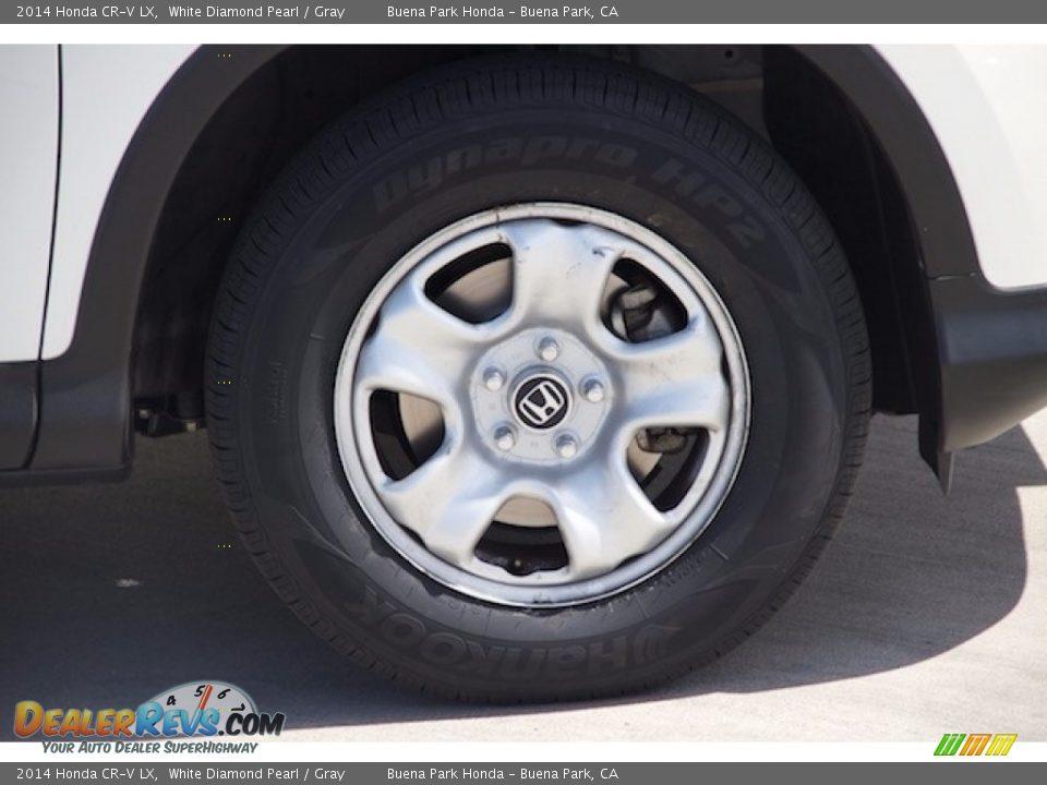 2014 Honda CR-V LX White Diamond Pearl / Gray Photo #28