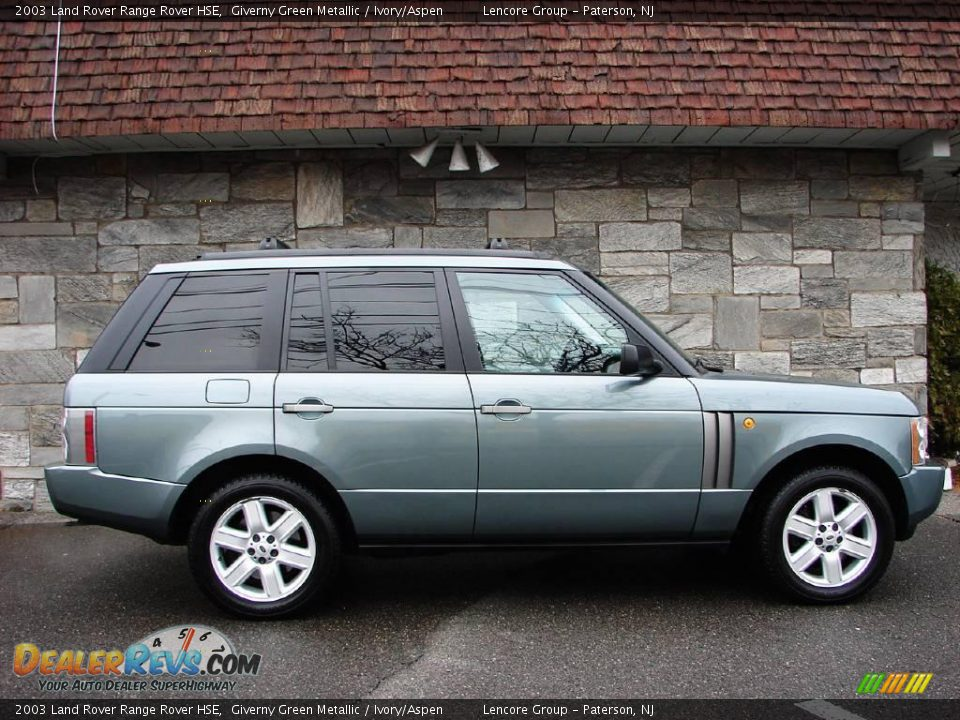 2003 Land Rover Range Rover Hse Giverny Green Metallic