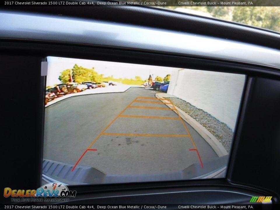 2017 Chevrolet Silverado 1500 LTZ Double Cab 4x4 Deep Ocean Blue Metallic / Cocoa/Dune Photo #18